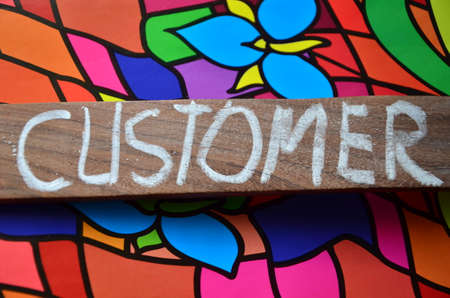 customer: customer word