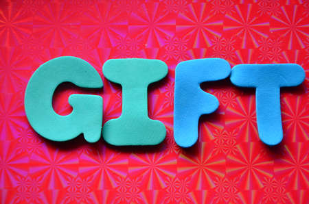 gift accident: GIFT WORD