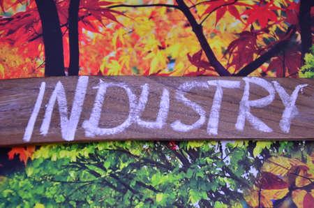 tertiary: industry word