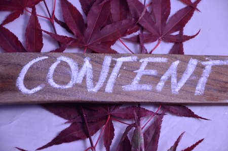 keywords link: content word