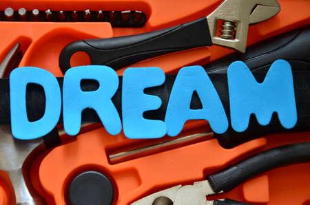 envision: dream word
