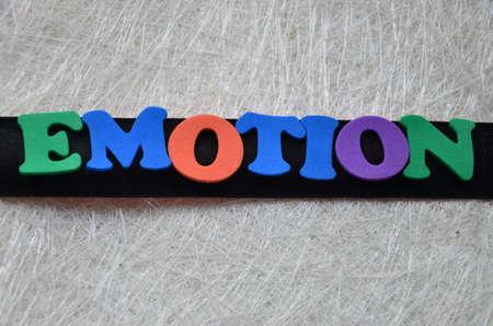 emotion: emotion word