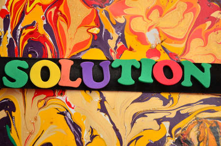 the solution: word solution