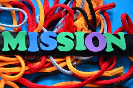 accomplishing: Mission word