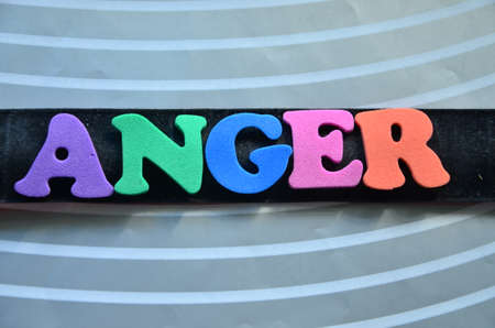 affliction: Word anger