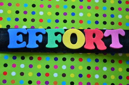 effort: Word effort