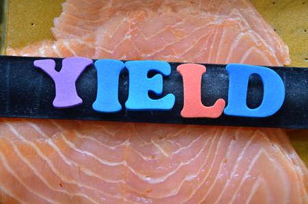 yield: word yield