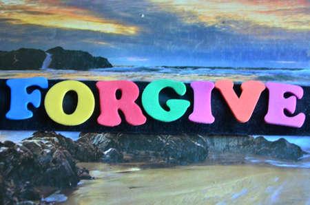 pardon: forgive word