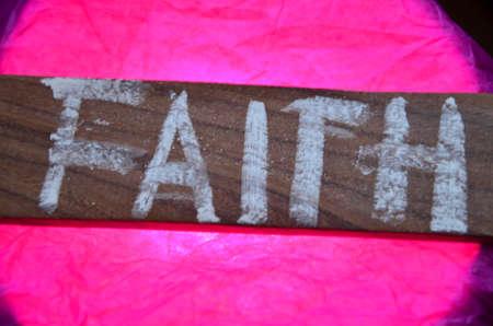 to word: FAITH WORD