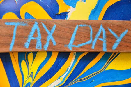 wage earners: WORD TAX DAY