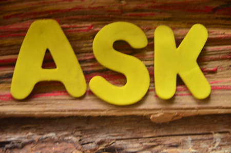 to word: ASK WORD