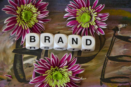 to word: word brand Stock Photo