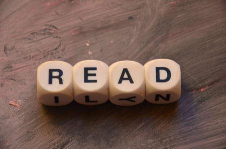 recite: word read