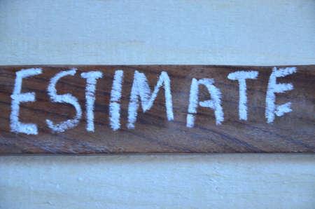 prioritization: Word estimate