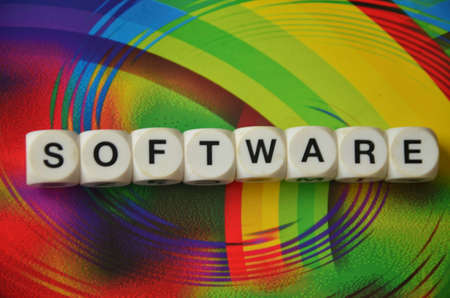 compiler: WORD SOFT WARE Stock Photo