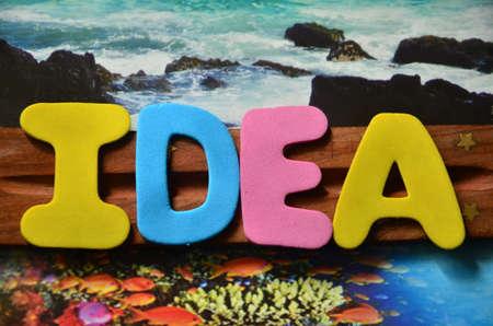 masterly: Word idea Stock Photo