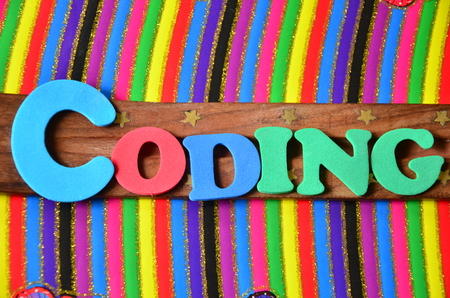 linker: coding word
