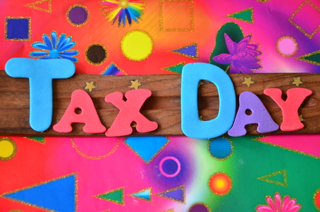 TAX DAY WORD
