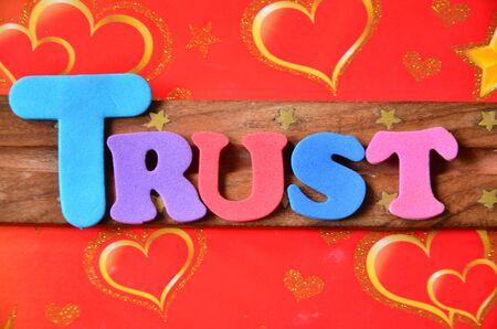 trust: TRUST WORD