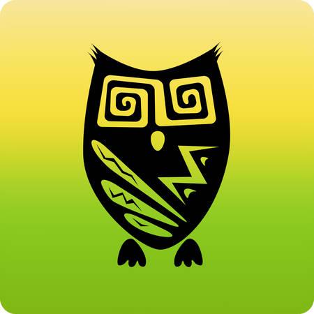 gaze: Tribal owl