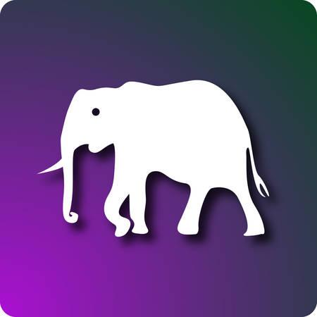 greenpeace: Elephant Illustration