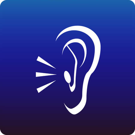 listening to people: Hearing Illustration