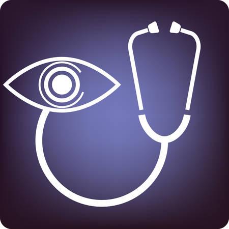 cornea: oftalmologia Vettoriali