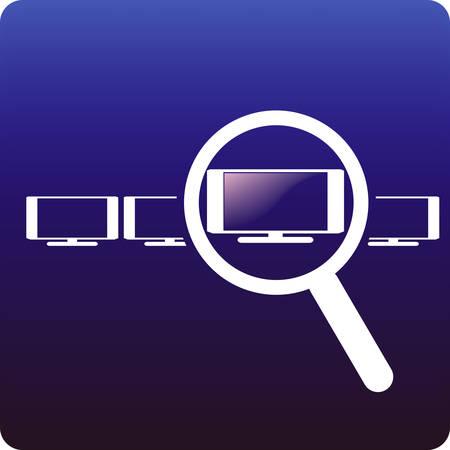 HDTV choise Stock Vector - 2515108