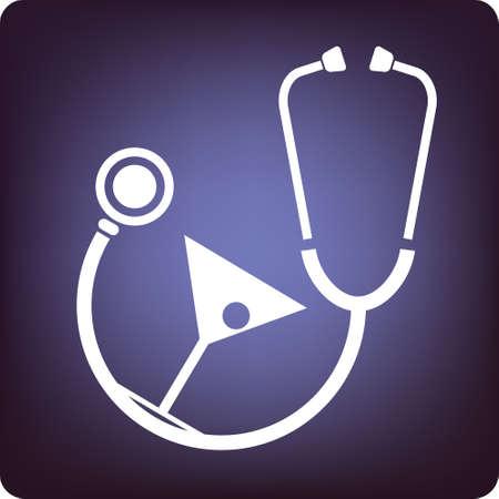 alternative practitioner: health drink Stock Photo