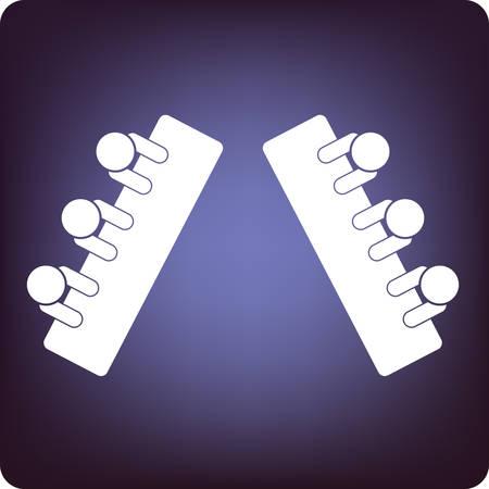 oposicion: debate Vectores