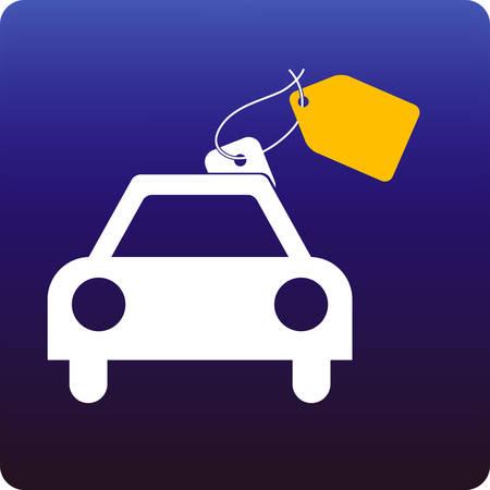 car sales Illustration