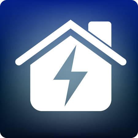 accommodation: home power supply Illustration