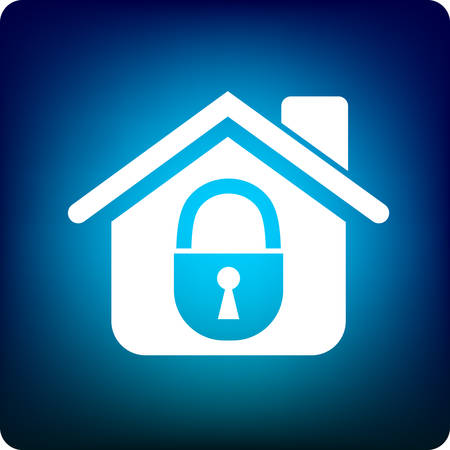 guard house: home security Illustration