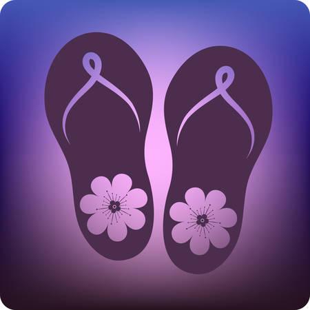 sandals Stock Vector - 3032939