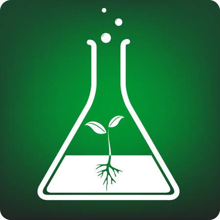 wijzigen: reageerbuis plant