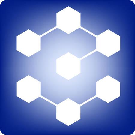 molecule Stock Vector - 3133008