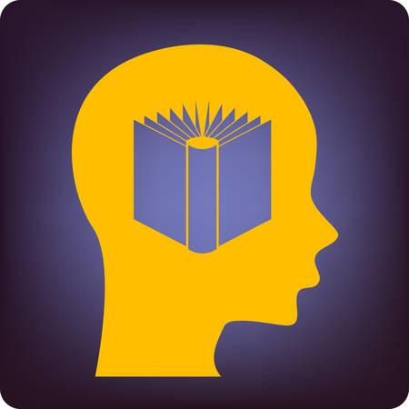 absorb: knowledge Illustration