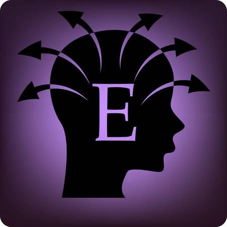 extrovert: extrovert Illustration