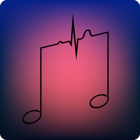 therapies: music therapy Illustration