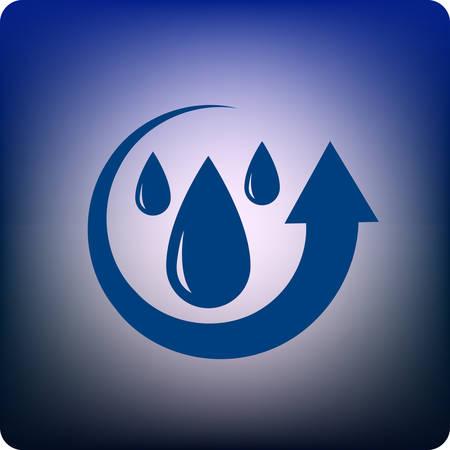 recycle water Vector