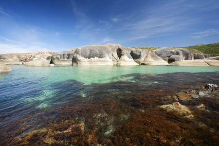Elephant rocks, found in William Bay National Park, Western Australia.