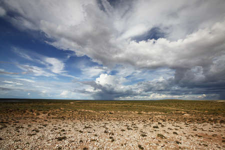 unpredictable: Peron Peninsula, Shark Bay. Weather can be very wild and unpredictable here.
