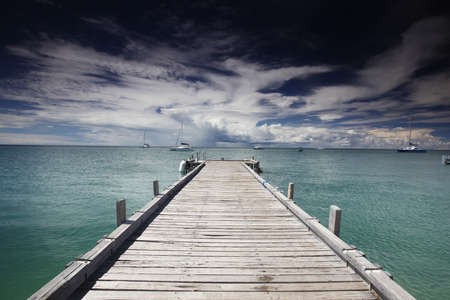 Jetty in Monkey Mia, northern Western Australia. Felt like stepping into a painting.