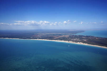 The famed Cable Beach in Broome, Western Australia during the warm winter.