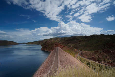 The biggest dam in Western Australia, Australia.