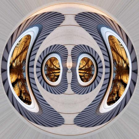 Strange round window