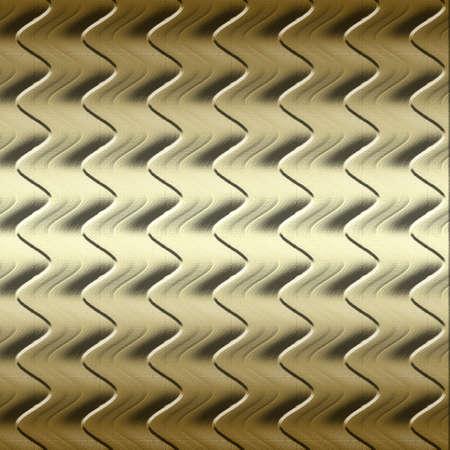 Golden waves texture