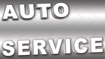 The formula for the auto service business card Stock Photo - 17514504