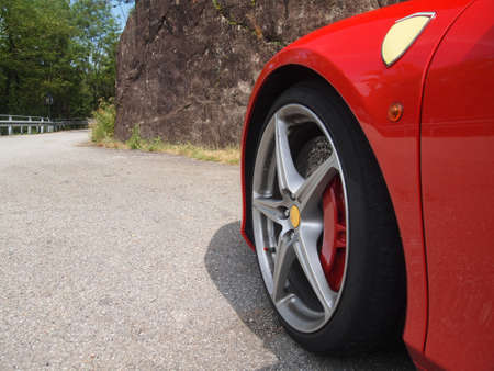 FERRARI SPIDER 458 SPORTS CAR