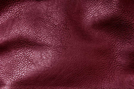 crimson artificial leather for background photo